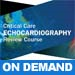 2018 Critical Care Echocardiography Review On Demand