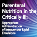 Parenteral Nutrition in the Critically Ill