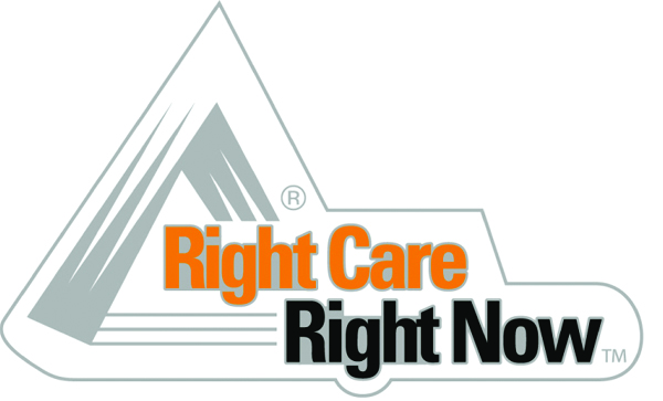 Right Care, Right Now Pin