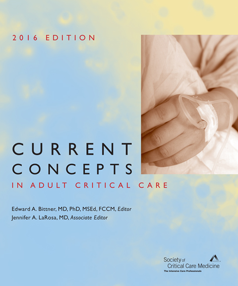 Current Concepts in Adult Critical Care 2016 Print