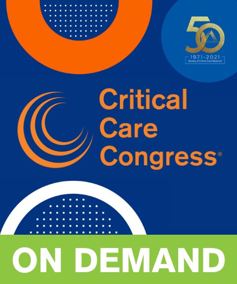 50th Critical Care Congress On Demand