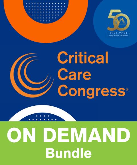 50th Critical Care Congress On Demand Bundle