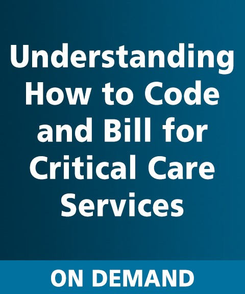 Understanding How to Code and Bill for CC Services On Demand