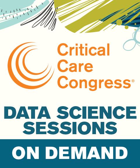 49th Critical Care Congress 2020 Data Science Sessions On De