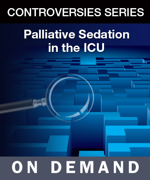 Palliative Sedation in the ICU On Demand