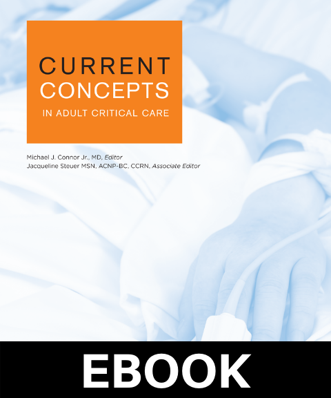 Current Concepts in Adult Critical Care 2020 eBook