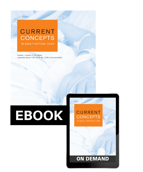 Current Concepts in Adult Critical Care 2019 eBundle