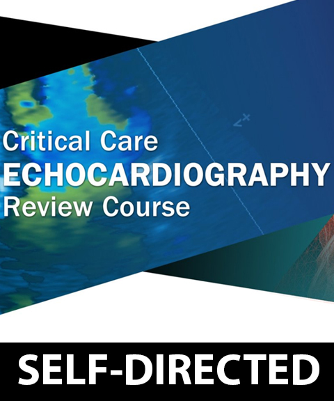 Self-Directed Critical Care Echocardiography Review