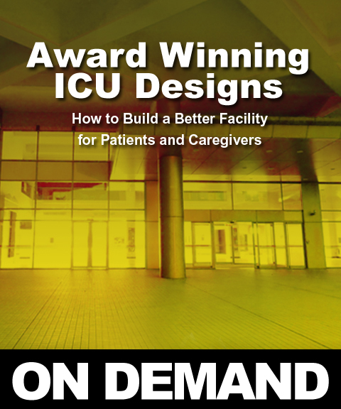 Award Winning ICU Designs 2019