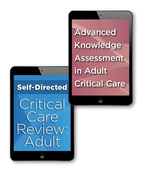 Sccm critical care review adult bundles critical care review bundle adult continuing knowledge fandeluxe Image collections