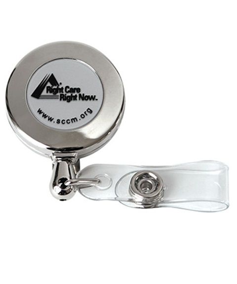 Right Care Right Now Retractable Badge Holder