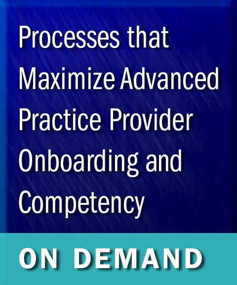 Maximize APP Onboarding and Competency On Demand