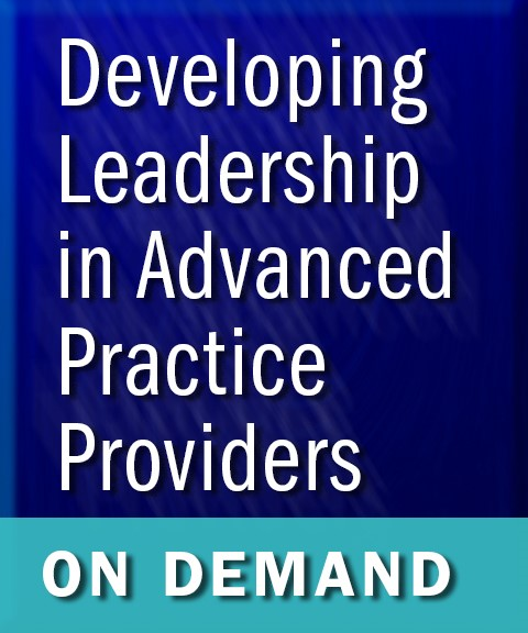 Developing Leadership in APPs On Demand